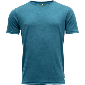 Devold Eika Tee Men, blue melange